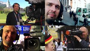 Als Kameramann für BR SAT1 N24. Pabst Benedikt, G7 Gipfel 2015