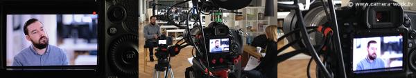 Videodreh bei Pixomondo in Stuttgart für DELL Computer